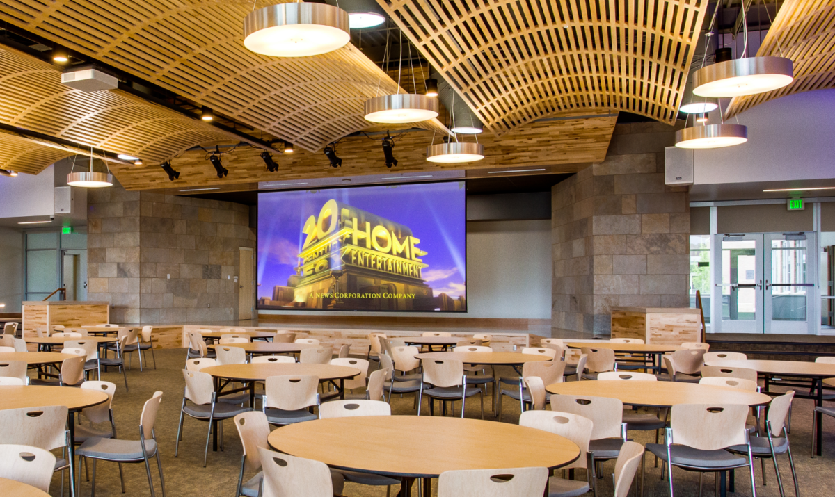 Commercial AV Dining Hall Boulder