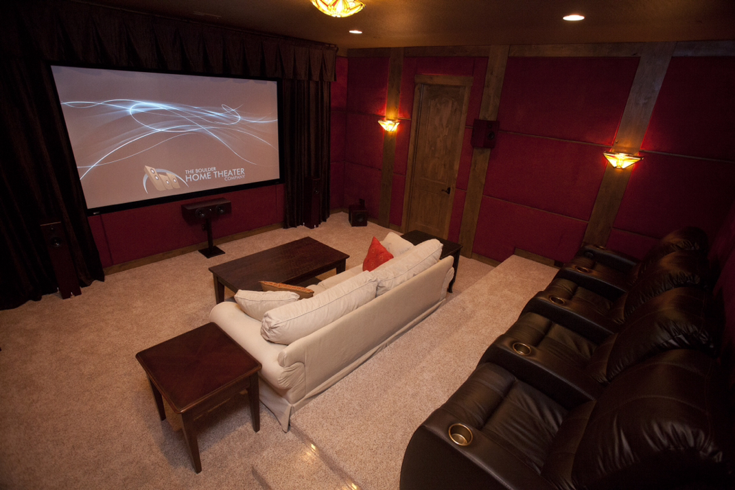 Complete Custom Home Theater